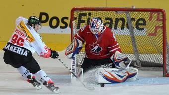 Edmontons Devan Dubnyk wird am Spengler Cup das Tor des Team Canadas hüten.