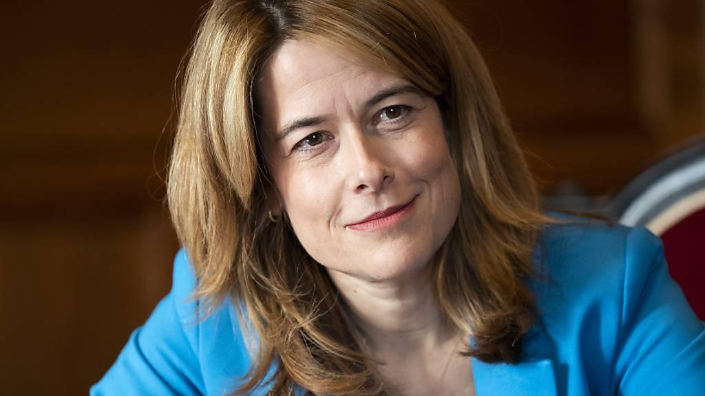 FDP-Präsidentin Petra Gössi äusserte sich in der «Samstagsrundschau» zur Haltung der FDP nach dem Scheitern des Rahmenabkommens mit der EU. (Archivbild)
