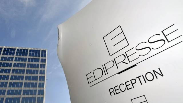 Blick auf den Edipresse-Turm in Lausanne (Archiv)
