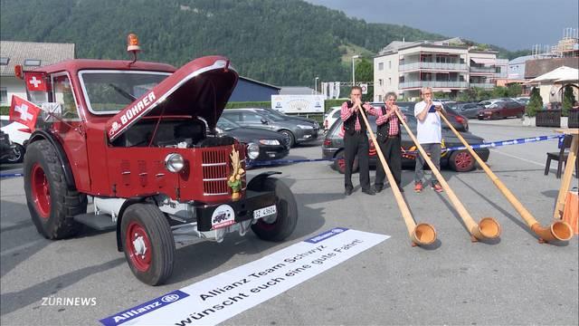 1800 Kilometer mit dem Traktor an die WM in Russland
