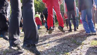 In Uitikon wurde der neue Vita-Parcours mit einigem Schweiss eingeweiht. (fuo)