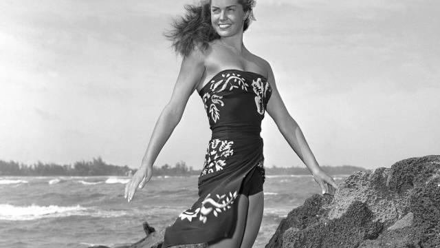 Esther Williams auf einer Aufnahme aus dem Jahr 1950 (Archiv)