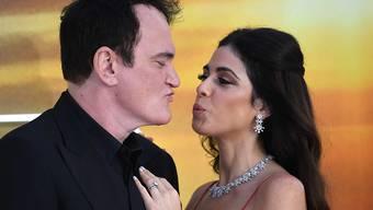 Werden erstmals Eltern: US-Regisseur Quentin Tarantino und die israelische Sängerin Daniella Pick. (Archivbild)