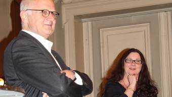 Zum Thema Einwanderung lud Jana Fehrensen den früheren Präsidenten der Eidgenössischen Kommission gegen Rassismus, Georg Kreis, ein.