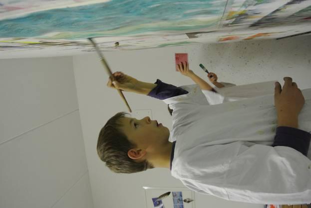 Künstler am Werk