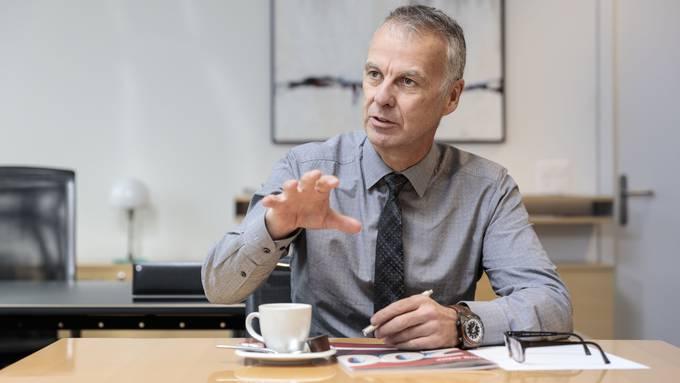 Markus Boss, CEO der Regiobank Solothurn, muss sich ein neues Team fürs Private Banking suchen.