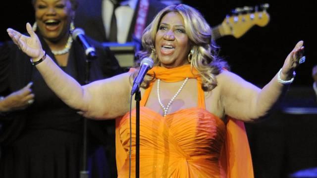 Sängerin Aretha Franklin in Los Angeles (Archiv)