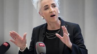 """Öffnet die Frauenpartei auch für Männer """"als vollwertige Mitglieder"""": Carmen Walker Späh, Präsidentin der FDP-Frauen und Zürcher Regierungsrätin."""