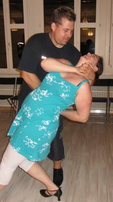 Lustvolle Pose bei Dancer's World