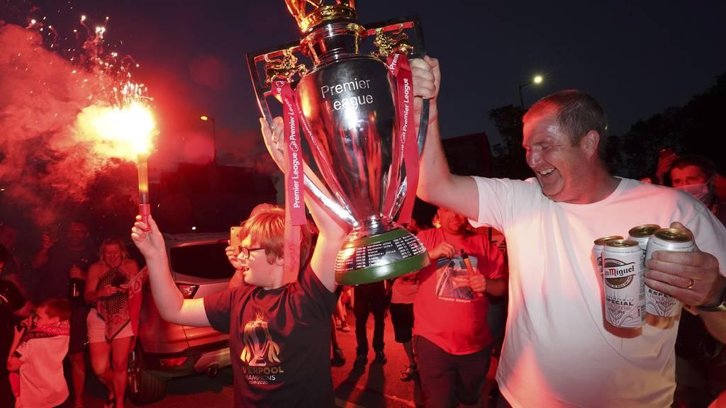 Liverpool-Fans feiern ersten Meistertitel seit 30 Jahren