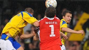 YB-Goalie Wölfli hielt seinen Strafraum sauber