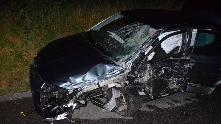 Beide Unfallbeteiligten wurden verletzt ins Spital gebracht.