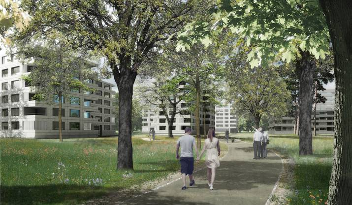 Im Gellert sollen 112 Wohnungen entstehen.