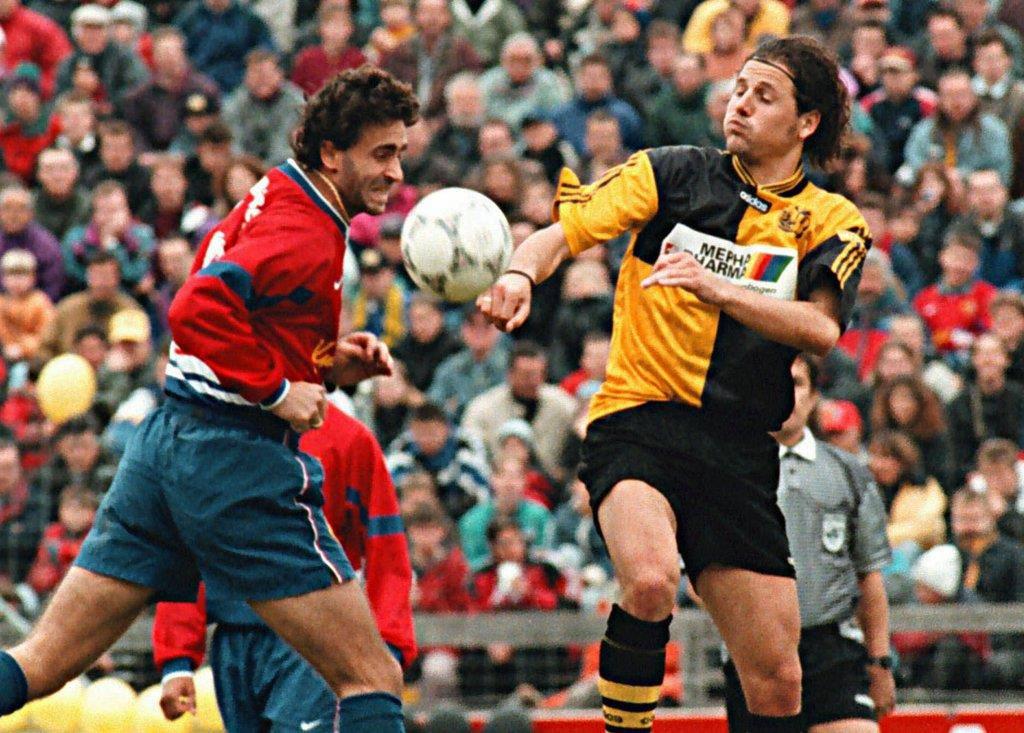 Gaudino Senior im Trikot des FC Basel