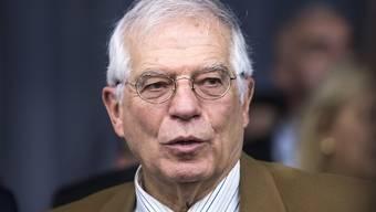 Der neue EU-Aussenbeauftragte Josep Borrell wirbt in einem Schreiben an die EU-Aussenminister für eine machtbewusstere europäische Politik.