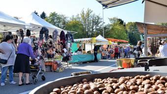 Der Herbstmarkt findet in Wohlen dieses Jahr nicht statt.