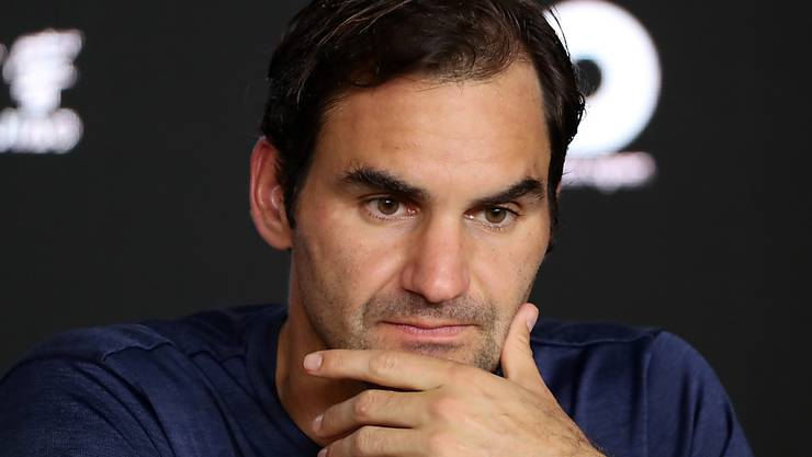 Enttäuscht, aber gefasst: Roger Federer nach seinem Aus am Australian Open