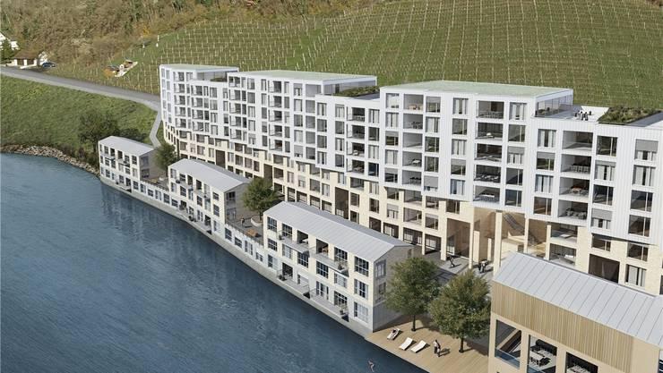 «Zackenbarsch» – so heisst das Wohnbauprojekt, das auf einem Teil des Industrieareal Oederlin entstehen soll. Später soll das gesamte Areal – viermal so gross wie das Botta-Thermalbad – in ein Stadtquartier verwandelt werden.