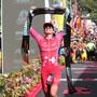 Daniela Ryf wurde in Nizza erneut Weltmeisterin über die halbe Ironman-Distanz. (Archiv)