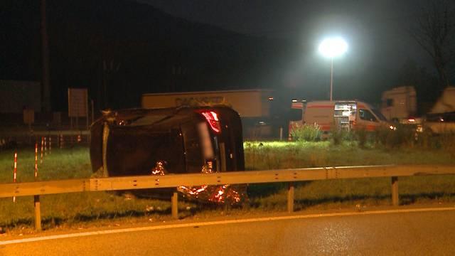 Rothrist: Taxifahrerin verstirbt nach Selbstunfall auf Autobahn