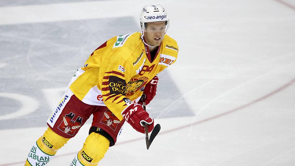 Der Finne Eero Elo spielt ab sofort wieder für die SCL Tigers