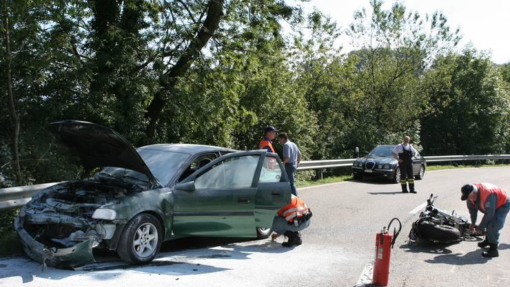 2006 ereignete sich auf der Staffeleggstrasse ein tödlicher Unfall.