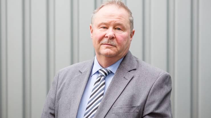 Stettens Gemeindeammann Kurt Diem.