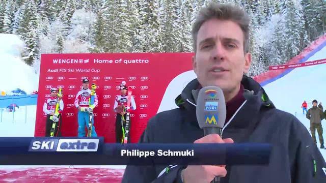 SkiExtra: Zwei Schweizer auf Podest in Wengen