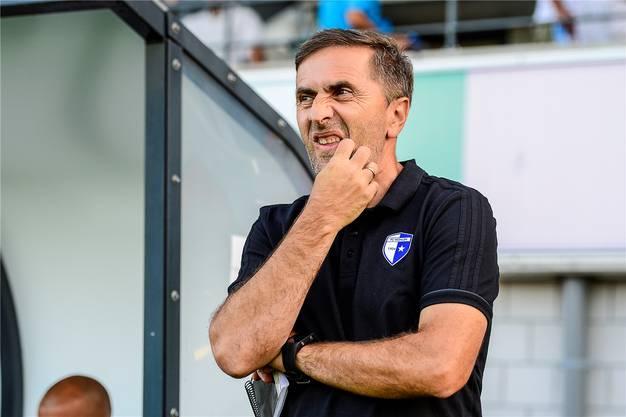 Beim FC Wohlen war Jakovljevics Laune eher schlecht