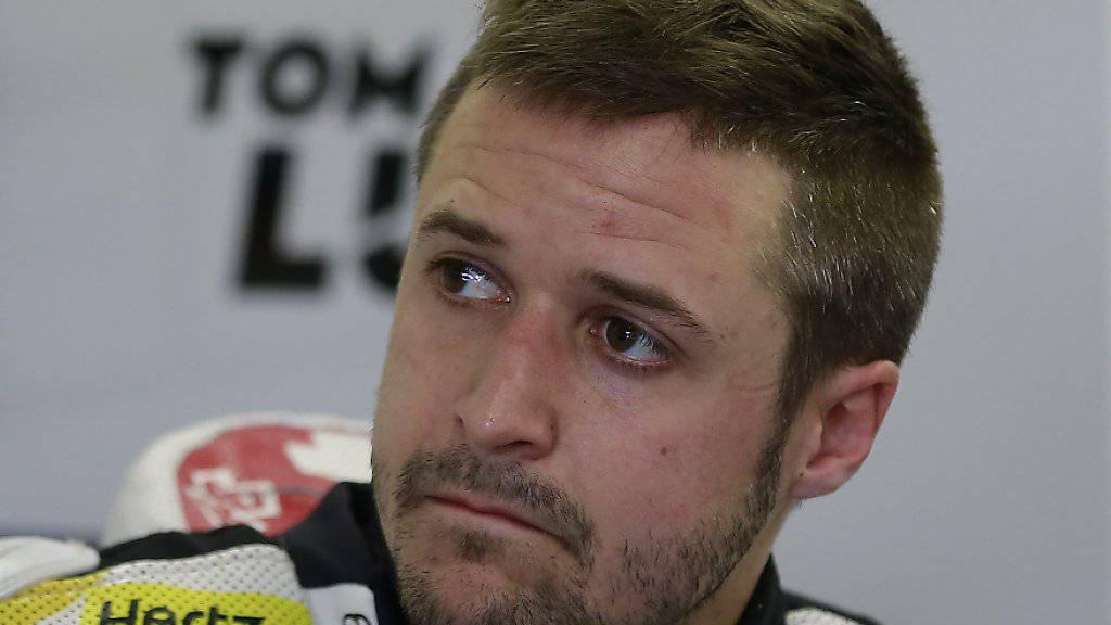 Enttäuschung bei Tom Lüthi: nur 11. Platz im GP von Japan