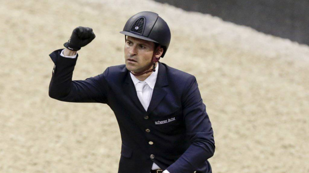 Romain Duguet ballt die Faust nach seiner gelungen  Vorstellung