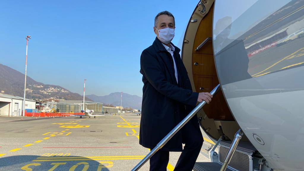 Bundesrat Cassis reist in Nahen Osten und in Emirate