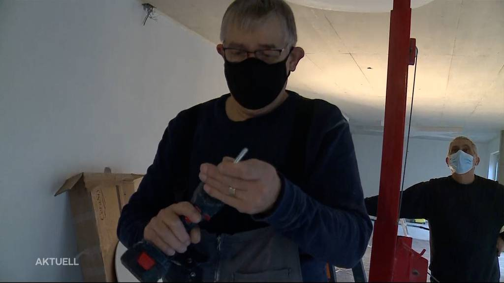 Senioren helfen bei Kita-Neubau in Lenzburg