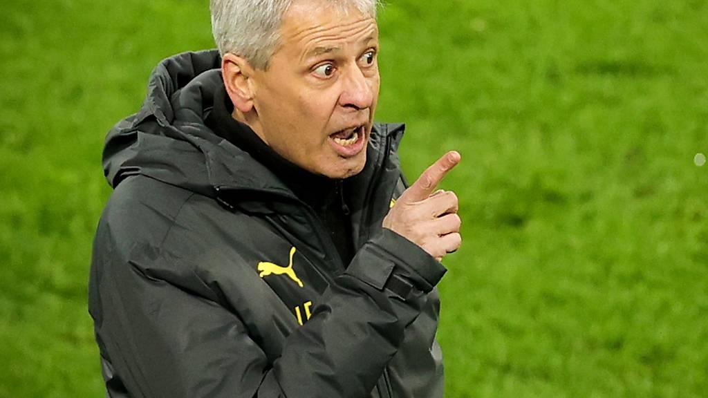 Lucien Favre, hier noch bei seiner Tätigkeit bei Borussia Dortmund