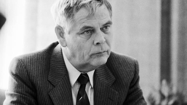 """Hans-Rudolf Strasser gehörte unter dem Decknamen """"Franz"""" zum Stab der Geheimorganisation P-26. Er ist im Juni verstorben."""