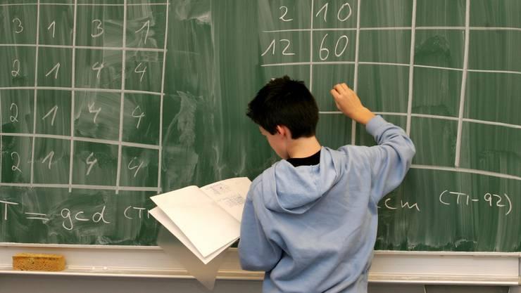 Mathematik soll dabei helfen, gezielt das zu trainieren, was Schüler später in ihrer Ausbildung brauchen (Symbolbild).