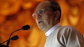 Hat in Burma Reformen eingeleitet: Präsident Thein Sein (Archiv)
