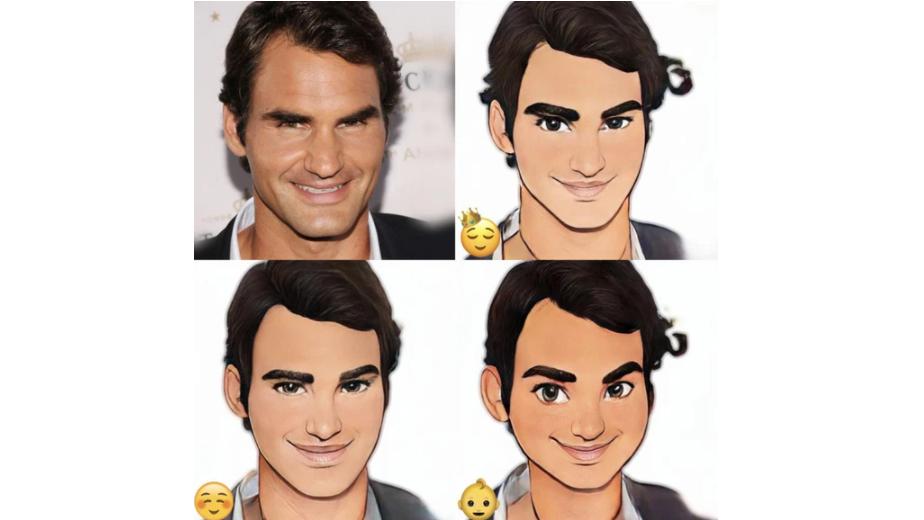 Voilà Al Artist - Roger Federer