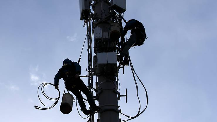 Swisscom und Sunrise haben beide neue Baugesuche für Antennen eingereicht. (Symbolbild)
