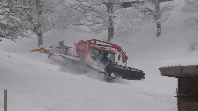 Skigebiete im Mittelland hoffen auf viel Schnee