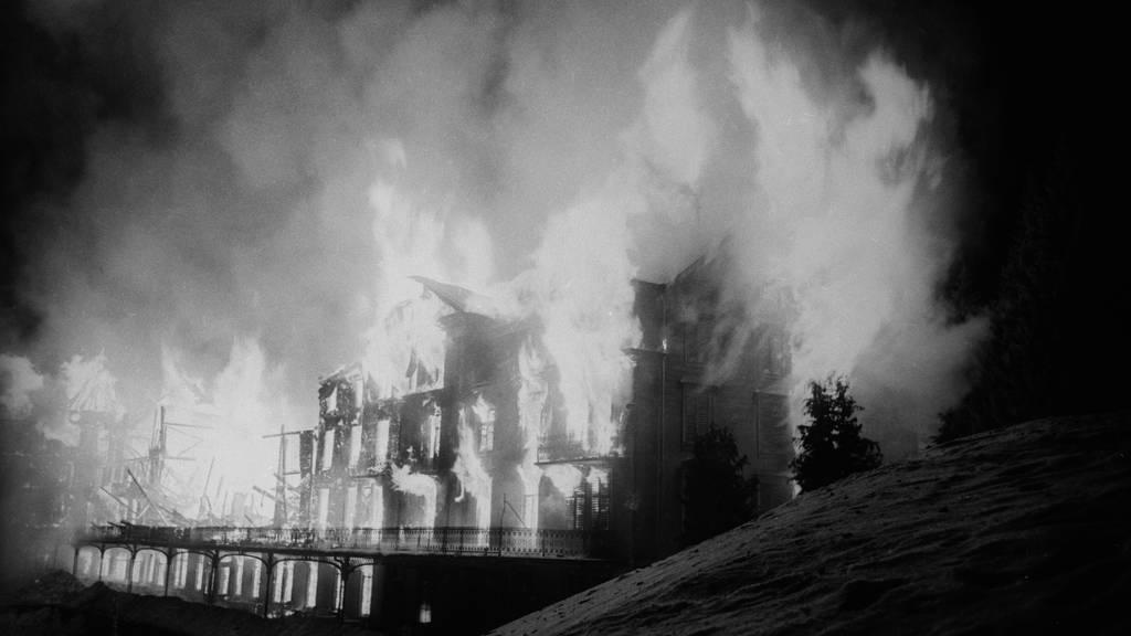 Als es vor 60 Jahren auf der Rigi brannte