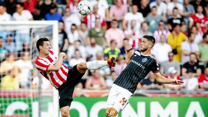 Eindhoven und Basel trennten sich Unentschieden.