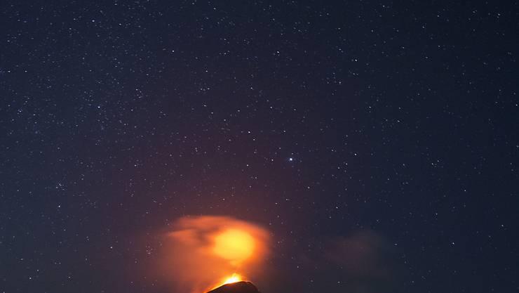 Seit über hundert Jahren wieder aktiv: Vulkan Momotombo in Nicaragua.