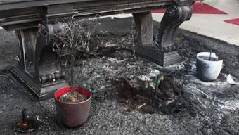 2011 steckte Andres Z. den Altar in der St.Ursenkathedrale in Brand.