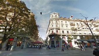 Hier an der Bahnhofstrasse, vis à vis vom St. Gotthard Restaurant wird die Ikea einen Pop-up-Store eröffnen.