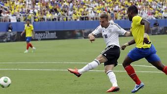 Lukas Podolski gegen Ecuador doppelt erfolgreich.