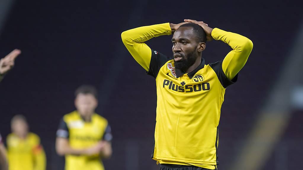 Ein Besuch in seiner Heimat Kamerun endet für YB-Offensivspieler Nicolas Moumi Ngamaleu mit einem positiven Corona-Test
