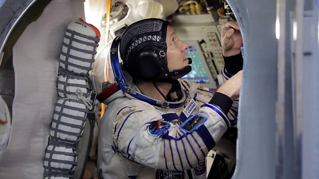 Die Raumfahrer der Raumstation ISS können gleich mehrmals dem Neujahr begegnen, weil sie die Erde so schnell umkreisen. (Symbolbild)