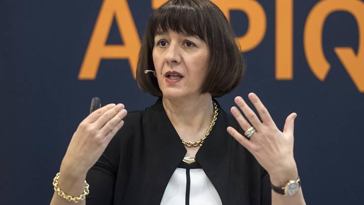 Alpiq-Chefin Jasmin Staiblin verlässt das Unternehmen. (Archiv)