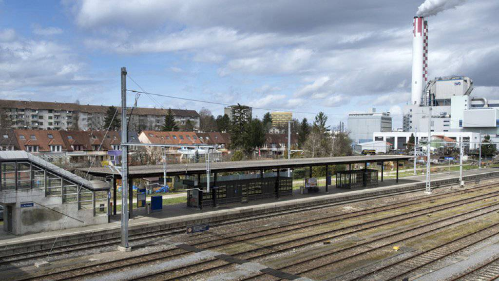 Die Gleise des Bahnhofs St. Johann in Basel - hier kam es zu den gefährlichen Sabotageaktionen. (Archivbild)